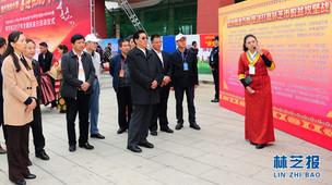 """喜迎十九大 西藏林芝市举办""""全国扶贫日""""宣传活动"""