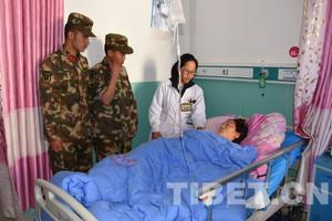 西藏昌都血库告急!兵哥哥用热血挽救了一条鲜活的生命