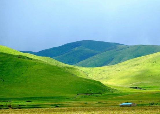 Das Ngawa-Plateau im Herbst