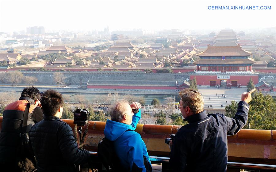 Beijing bezeugt in den letzten fünf Jahren rasante Entwicklung