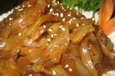 美食:清蒸牛蹄筋 玉树不可多得的美食