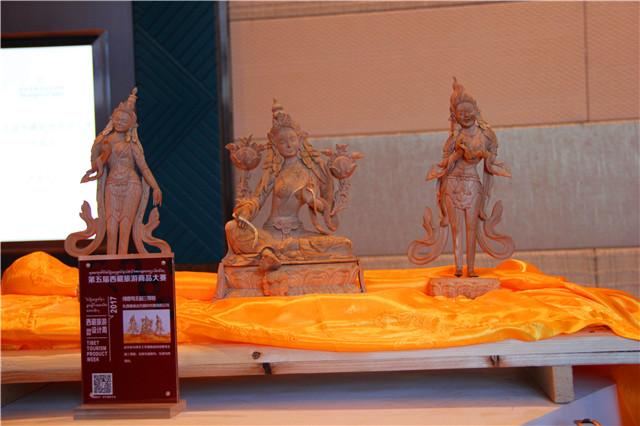 """西藏旅游商品大赛为游客精选""""西藏礼物"""""""