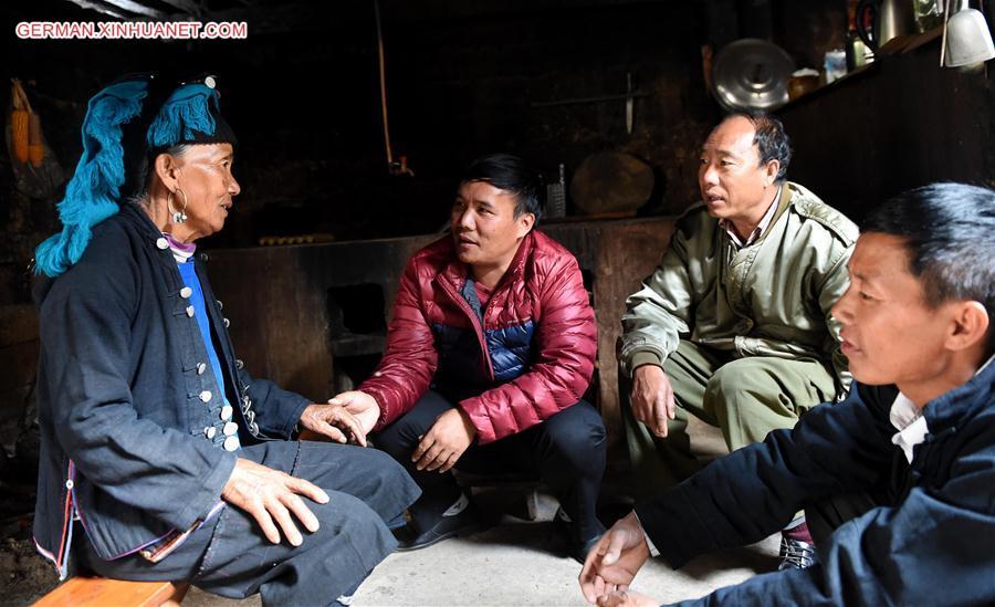 Armut der Bevölkerung im Südwesten Chinas reduziert