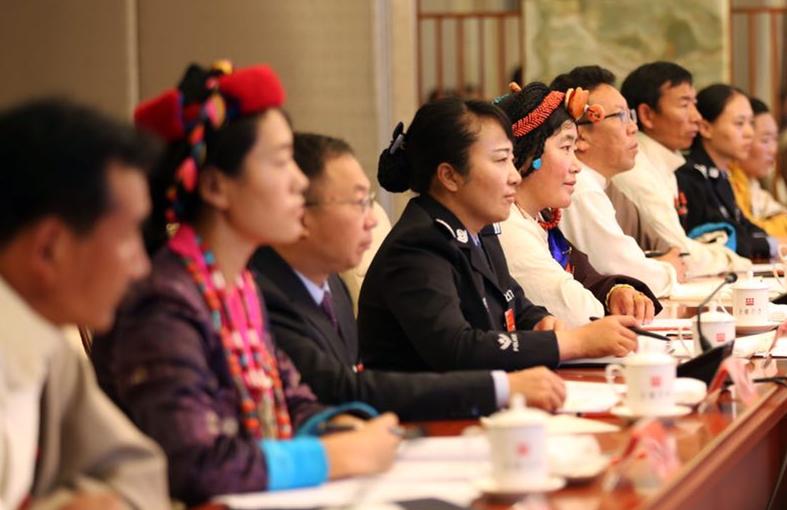 十九大西藏代表团召开全体会议 推选团长副团长秘书长
