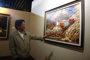 """喜迎十九大 """"雪域情——第二届西藏油画展""""惊艳开幕"""