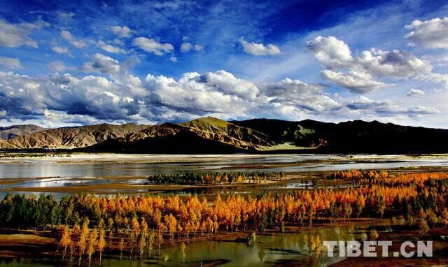 晨听 | 山托着云、云绕着山,那是西藏的样子