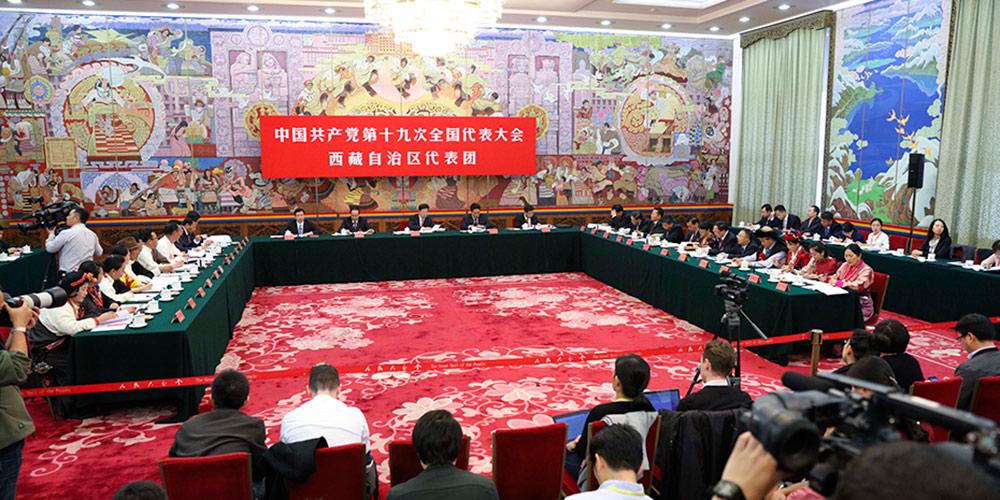 西藏代表团讨论向记者开放