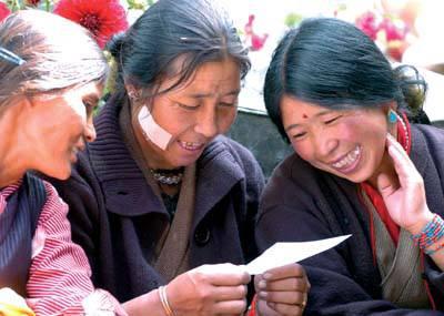 西藏各族各界干部群众热议十九大报告