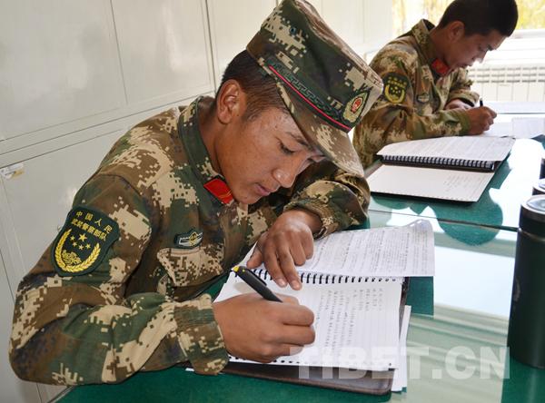 【十九大时光】武警西藏森林总队藏族官兵热议十九大