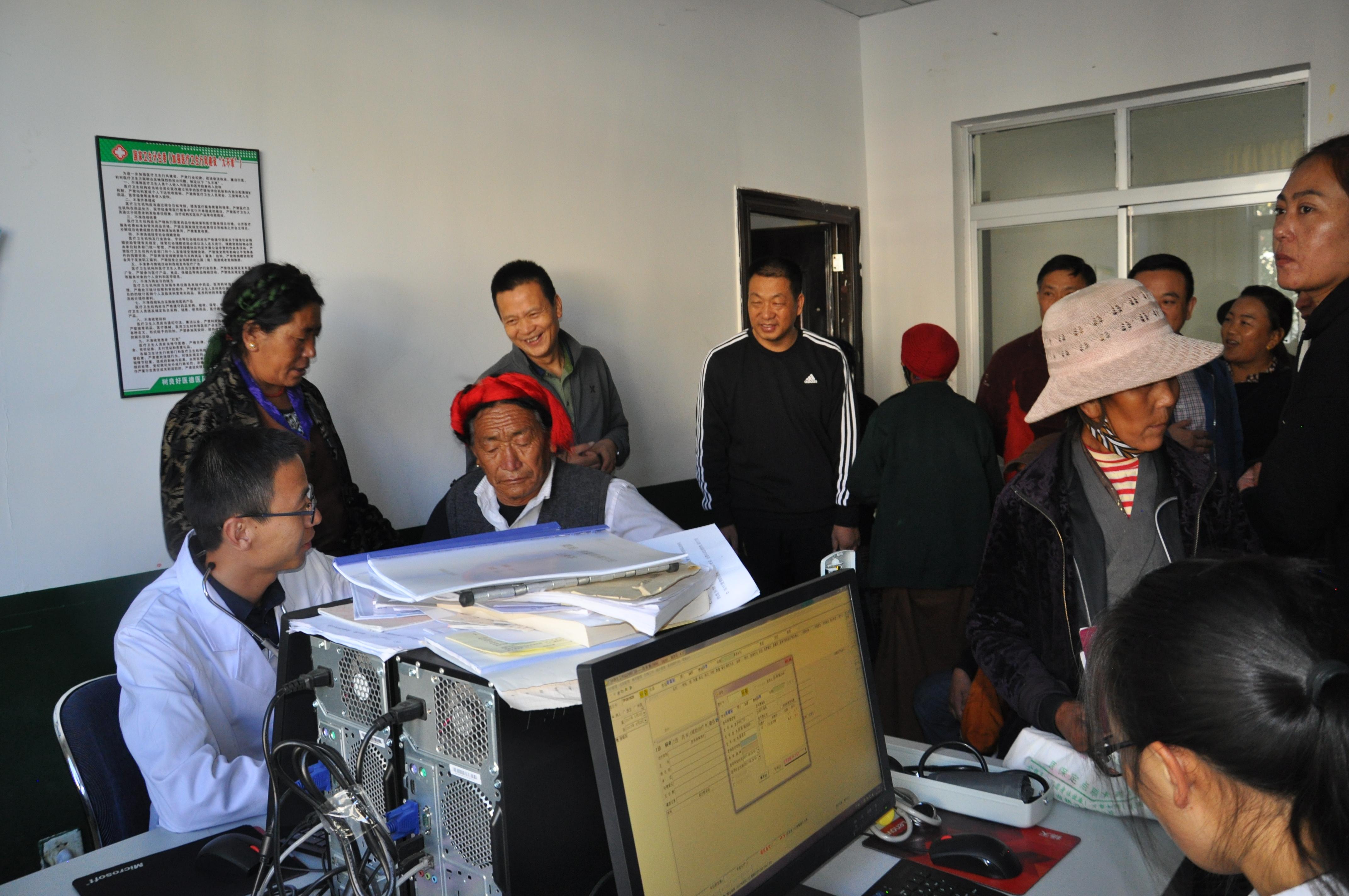 藏王陵脚下的援藏人——记湖北省襄阳市第五批短期援藏医生汪洋
