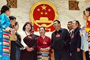 西藏代表畅谈感受
