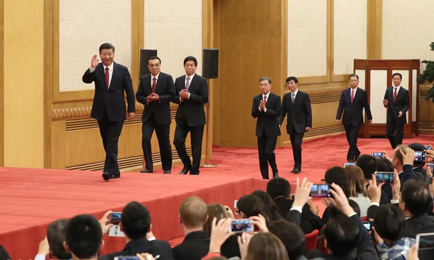 KP Chinas: Ständige Mitglieder des neuen Politbüros