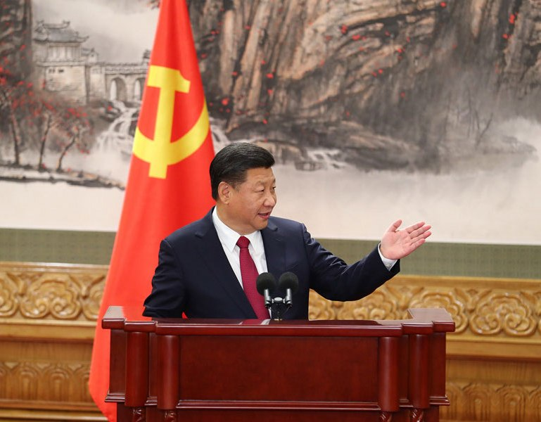 """Confident Xi begins second term with ambitious promises for """"new era"""""""