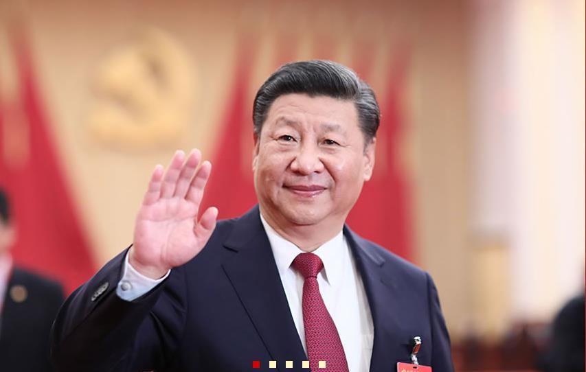 习近平等领导同志亲切会见十九大代表