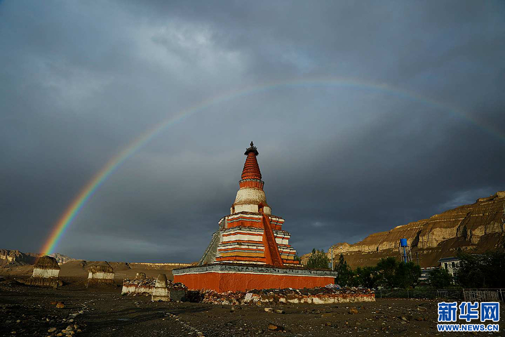 Tibetan Buddhist monastery has most of renovations completed