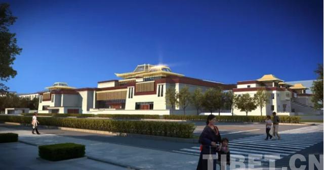 西藏博物馆改扩建工程正式开工 投资6.6亿元