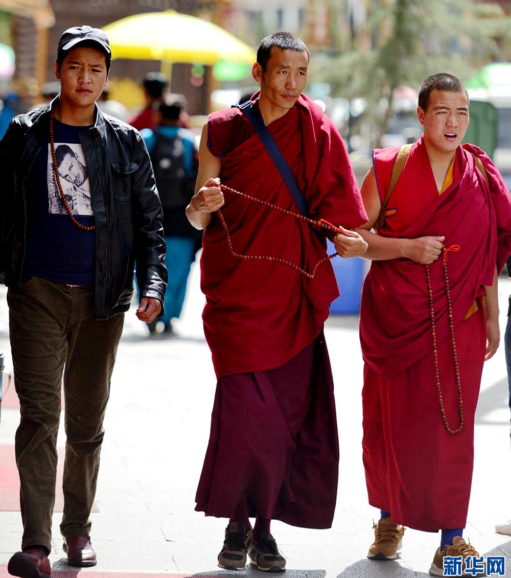 Street culture in Lhasa