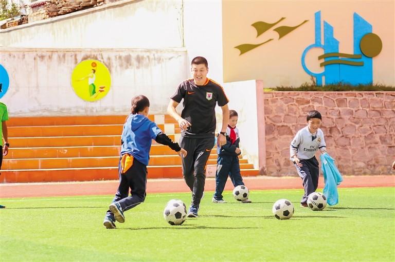 FC Shandong hiflt bei Ausbildung tibetischer Fußballtalente