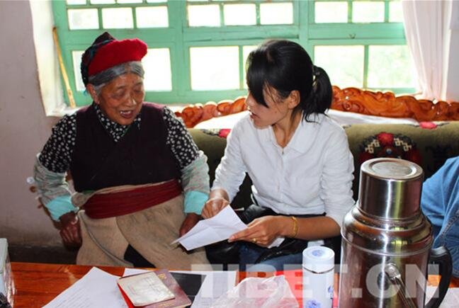 Menba delegate to convey 19th CPC National Congress spirit to each village folk