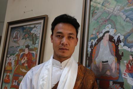 Thangka-Ausstellung der Gamagachi-Schule in Lhasa