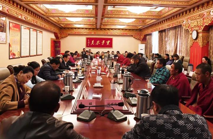 筑牢共同思想政治基础 服务共同奋斗目标 全力推动西藏长足发展和长治久安