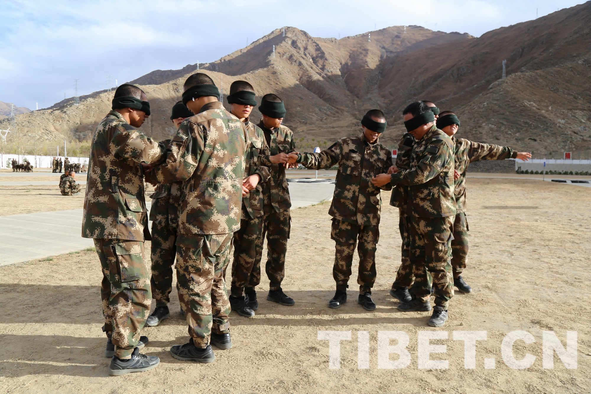 武警西藏森林总队开展新兵心理行为训练