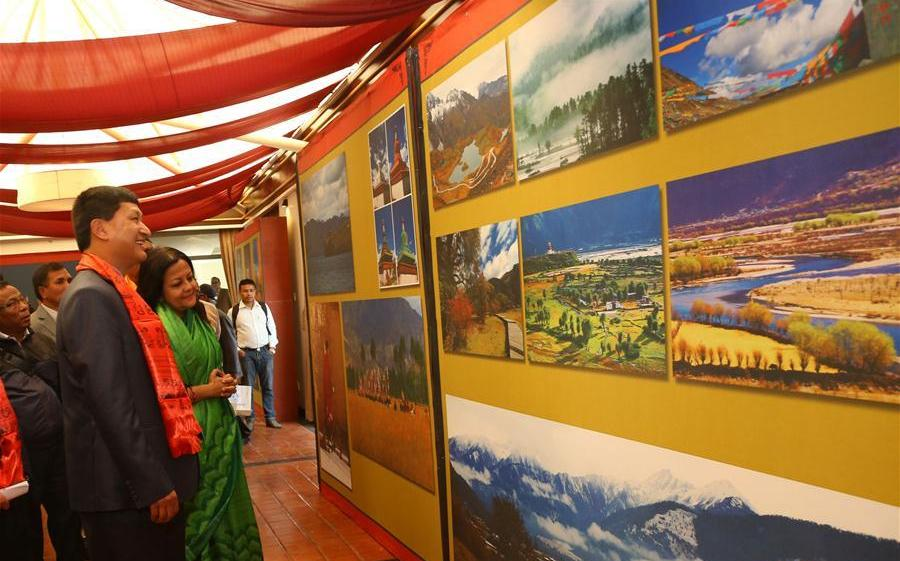 Int'l Digital Art Exhibition on Tibetan Cultural Heritage held in Nepal