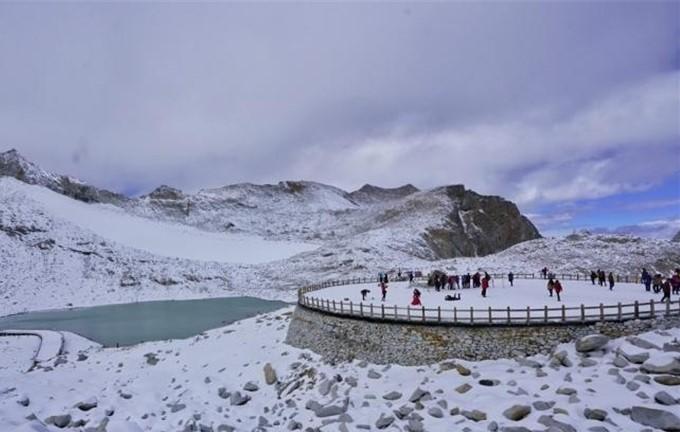 Die Dargo-Gletscher