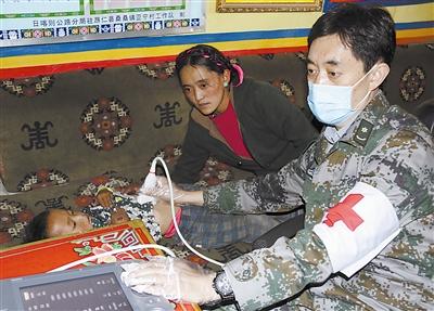 第302医院医疗队赴藏区筛查包虫病纪实
