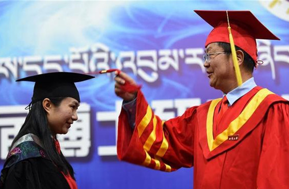 Tibet: Erste Doktoranden absolvieren an der Tibet-Universität