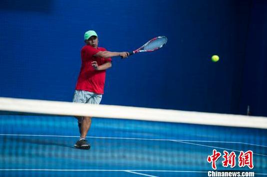Tibetische Tennismeisterschaft: Ältester Teilnahme ist 62 Jahre alt