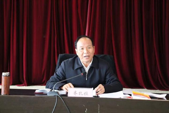齐扎拉向西藏非公经济组织宣讲党的十九大精神