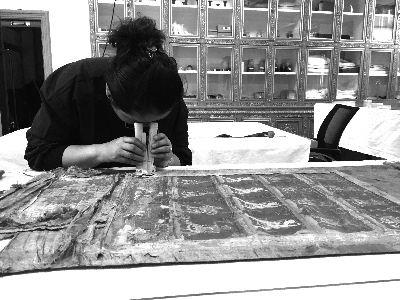 Restaurierungsarbeit von Klassikern tibetischer Tempel ist abgeschlossen