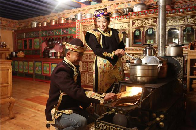 雅鲁藏布江北岸索松村震后安好迎新年