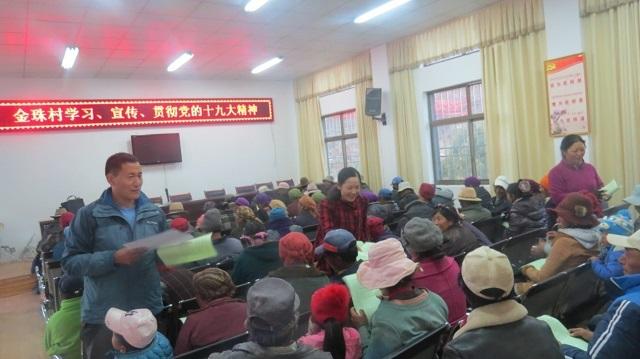 【学思践悟·十九大】西藏基层干部群众认真学习十九大精神