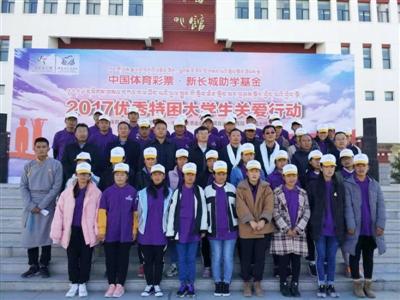 体彩资助西藏50名特困大学生