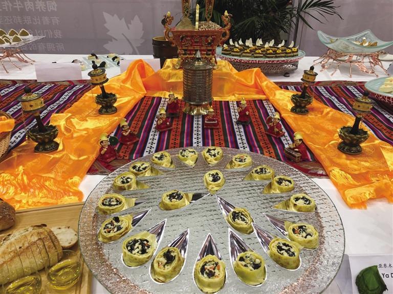Tibetische Küche betrat erneut internationale Bühne