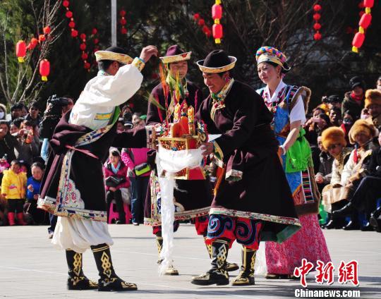 Tibet hat bald das früheste Neujahr - das Gongbo-Neujahr