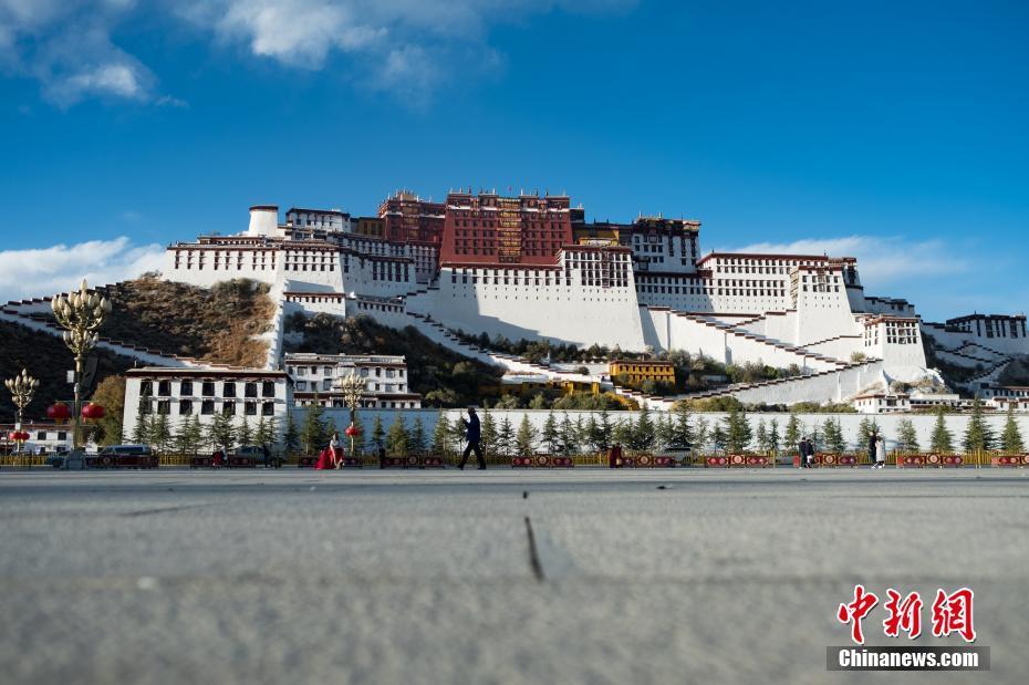 Wintertourismus in Lhasa beginnt