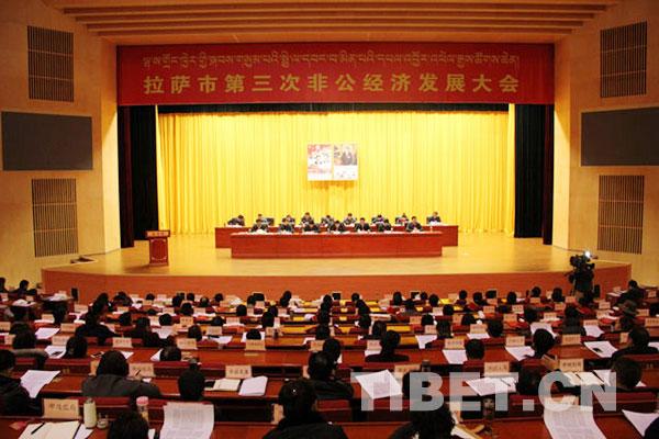 拉萨市召开第三次非公经济发展大会