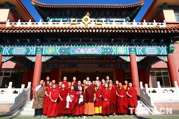 中国藏语系高级佛学院迎来蒙古国留学僧