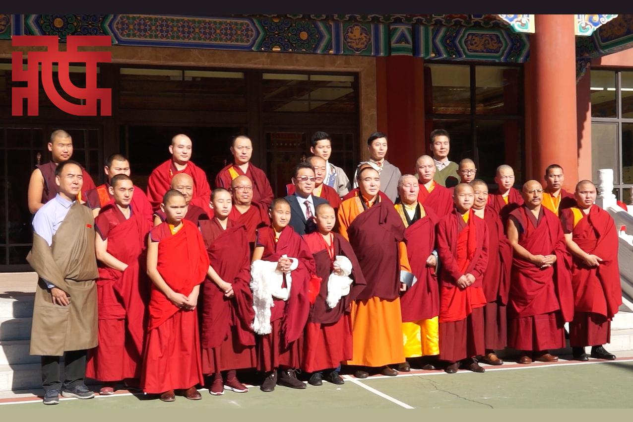 中国藏语系高级佛学院蒙古国僧人培训班开班