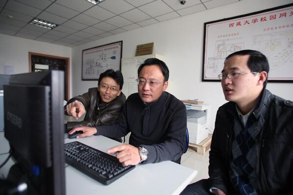 Nyima Tashi, Vater der tibetischen IT