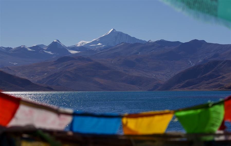 Winter scenery in China's Tibet