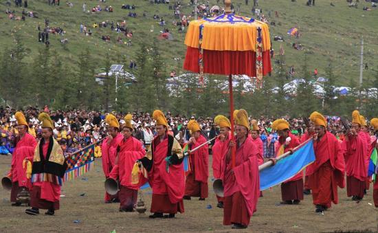Noten der Buddhahallenmusik im Labrang-Kloster werden digitalisiert