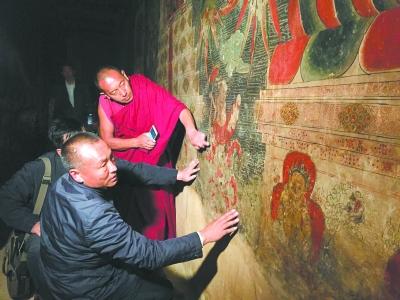 Restaurierung der Wandgemälde des Drepung-Klosters