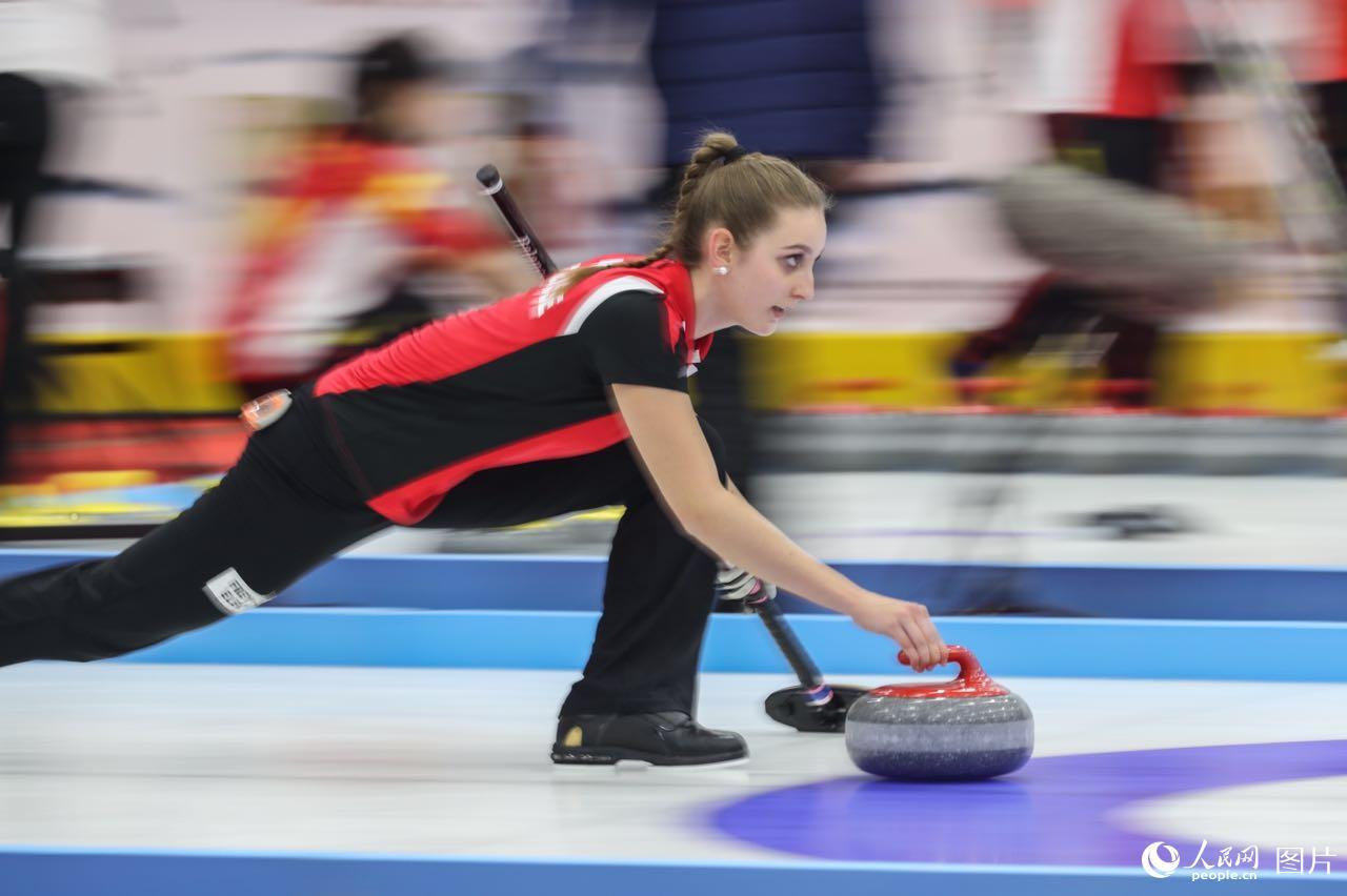 Internationale Curling-Meisterschaft China Qinghai 2017
