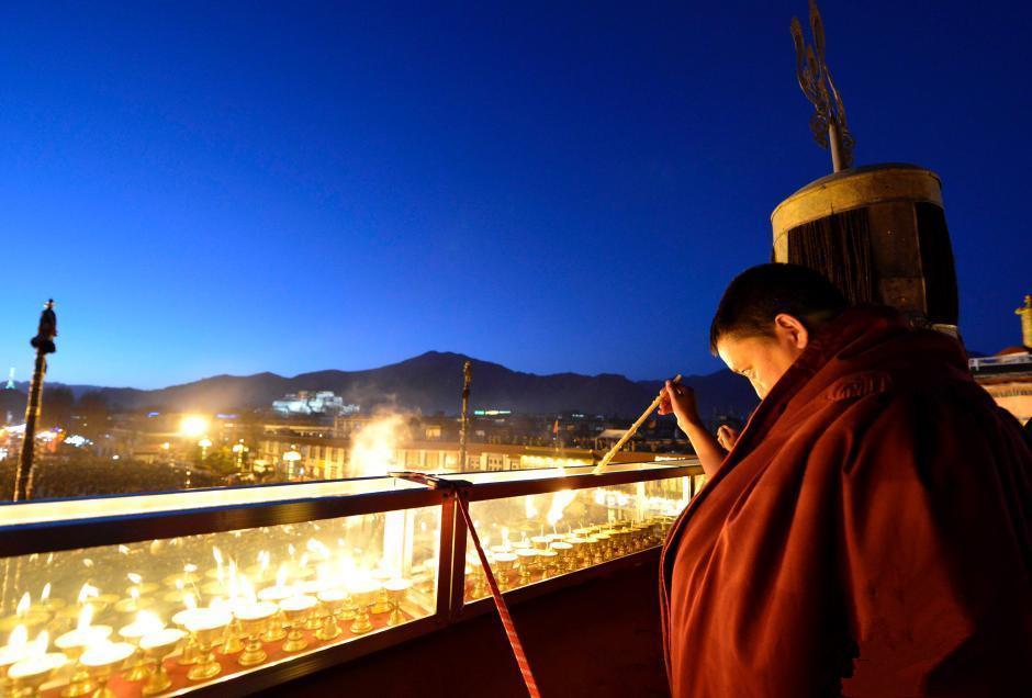 Das tibetische Butterlampenfest 2017