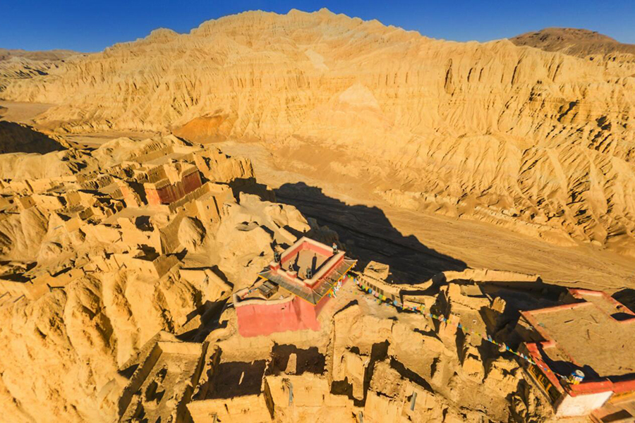 VR图片|360°遨游西藏:古格王朝遗址
