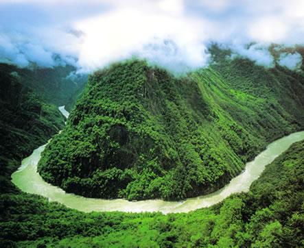世界第一大峡谷——雅鲁藏布大峡谷